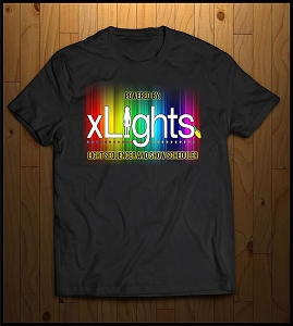 XLights RGB Logo T-Shirt