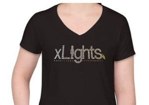 XLights Rhinestone Shirt