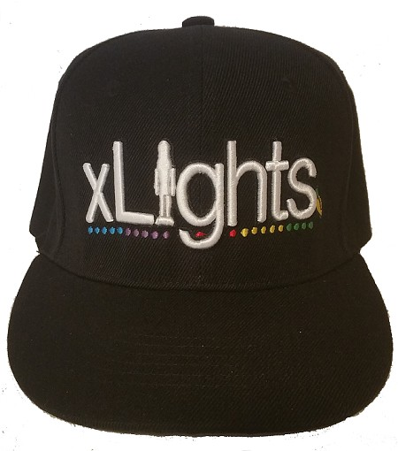 XLights Hat (Embroidered or Rhinestone)